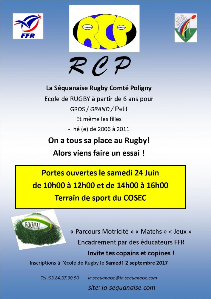 Portes ouvertes Rugby 2017